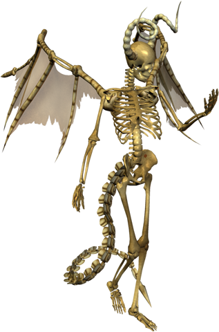 Devil Skeleton Png image #43858