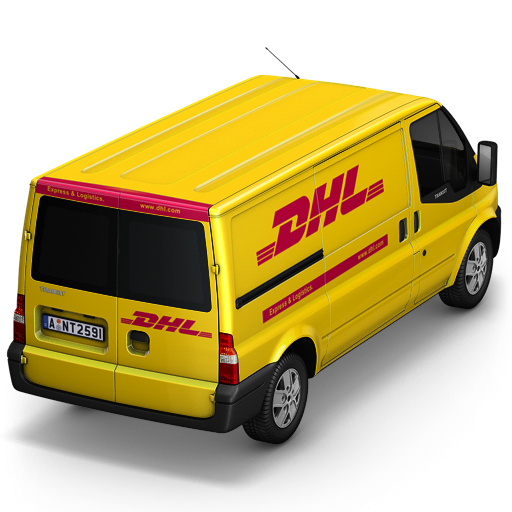 Vector Drawing Dhl image #21194