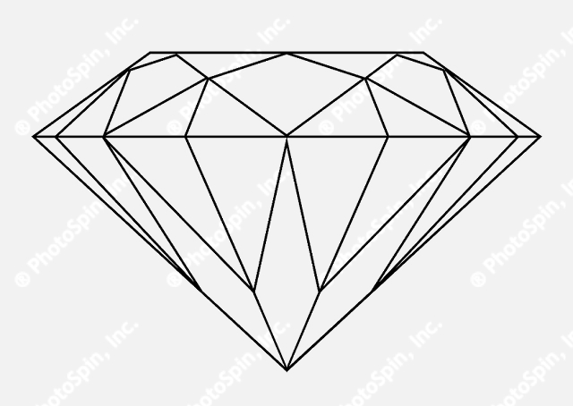 Images Diamond Outline Free Download Png image #23728