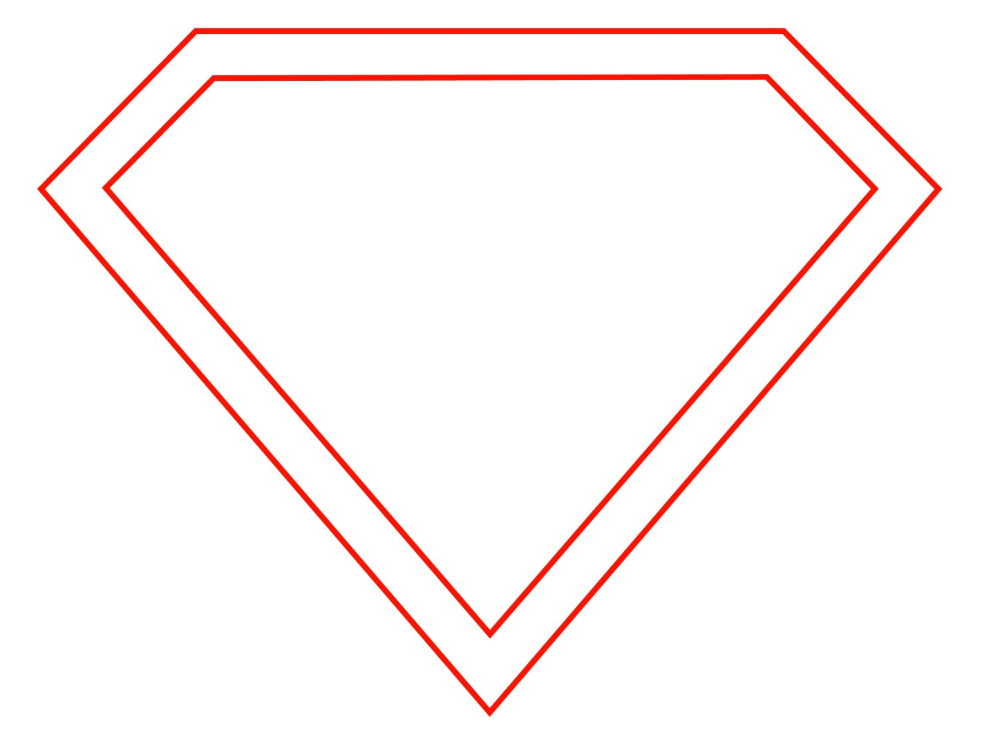 Vector Diamond Outline Png image #23742