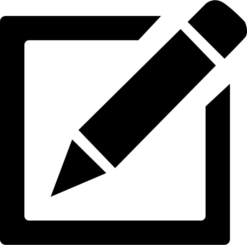 Diary, Pencil Icon