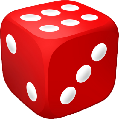 Dice Vector Png Red Dice image #41768