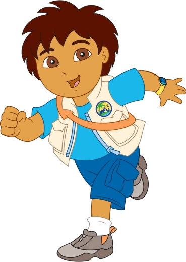 Diego Cartoon Characters Dora The Explorer PNG image #44272