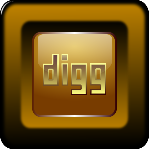Digg Icon Vector