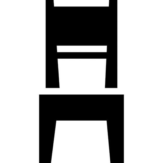 dining room, chair icon