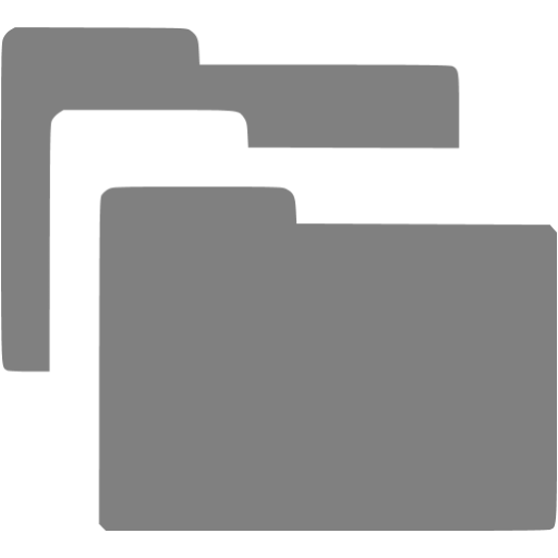Directory, Gray Icon Png image #12403