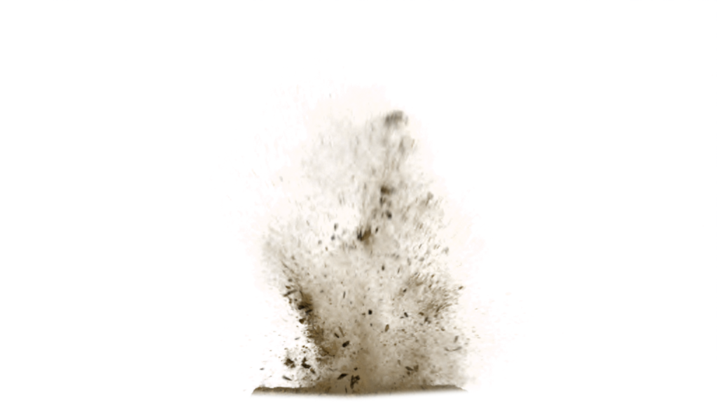 Dirt Explosion Png image #43590