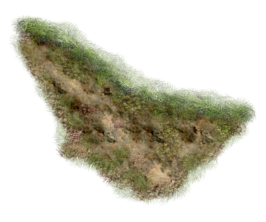 Dirt terrain png