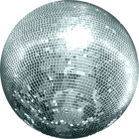 Transparent Disco Ball Image PNG