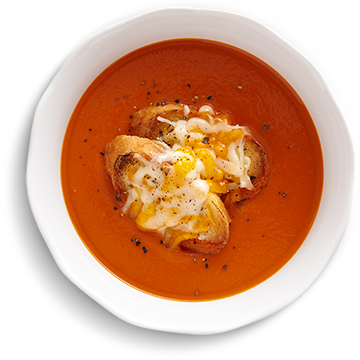 Dish Detail Red Pepper Soup Png image #43890