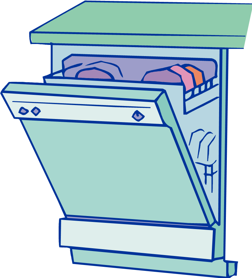Icon Dishwasher Vector
