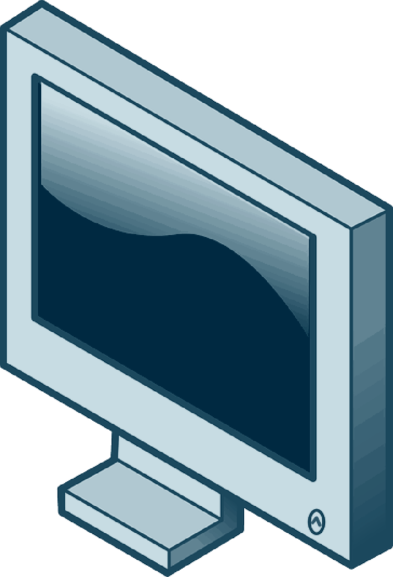 Display, lcd, monitor, screen icon