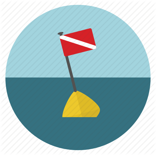 Diving Flag, Scuba Icon Png image #10966