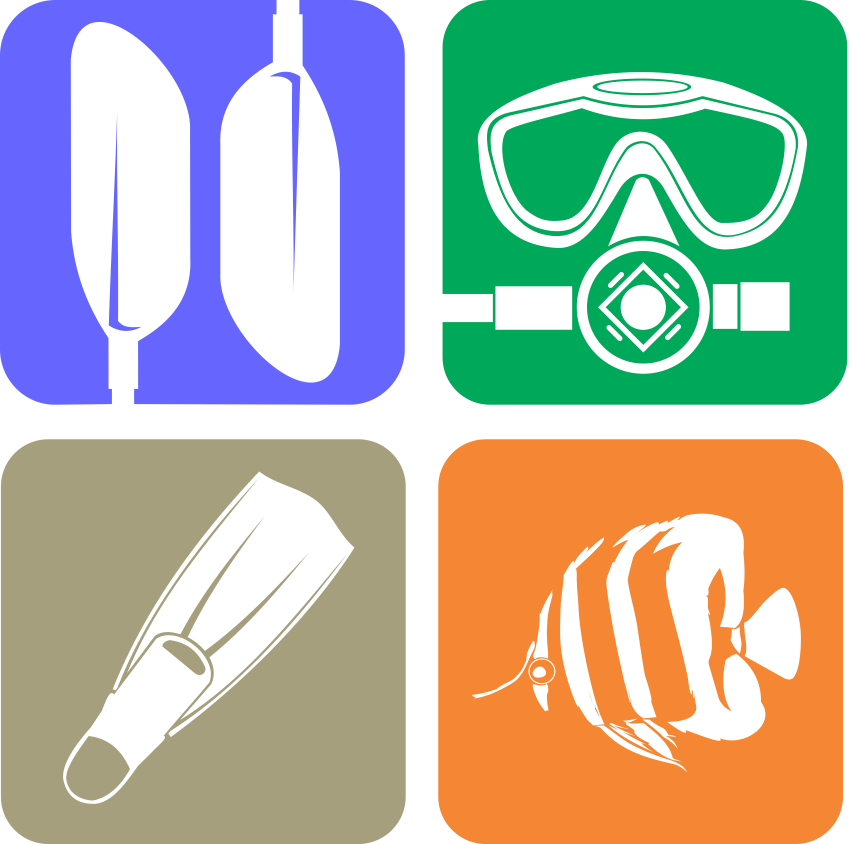 Diving Logo Icons image #4439