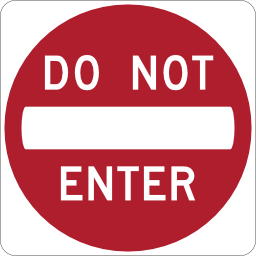 Do Not Enter Icon Png image #20457