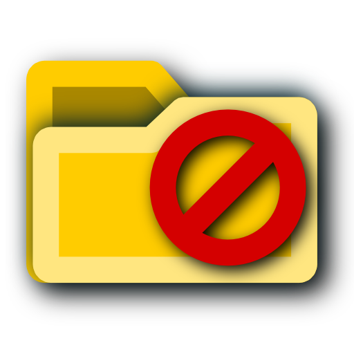 Do Not Folder Sign Icon Png image #20459