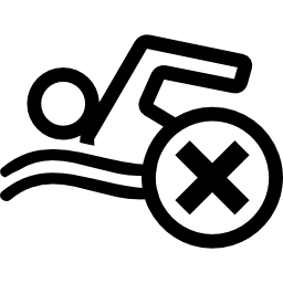 Do Not Swim Sign Icon Png image #20466