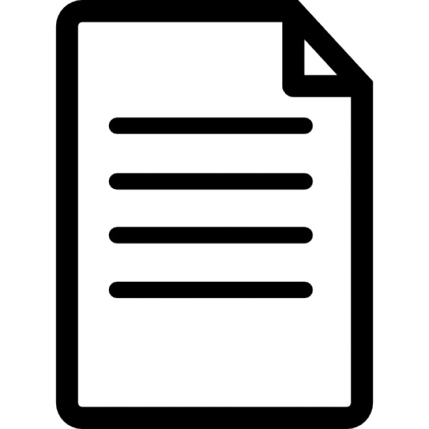 Document Icon Transparent