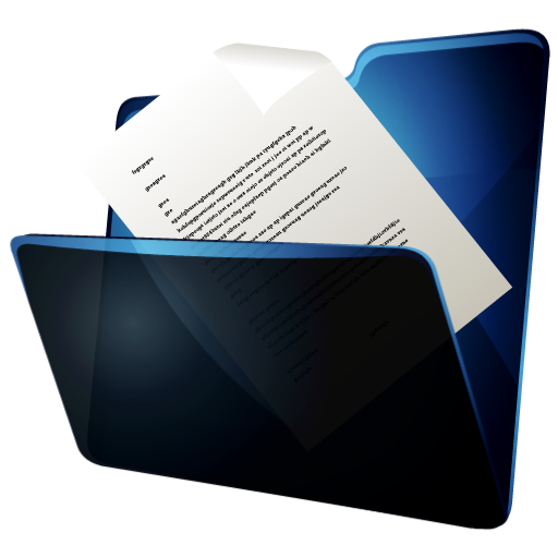 Transparent Document Icon image #36559