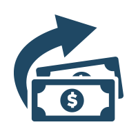 Dollar, exchange, money, transfer icon