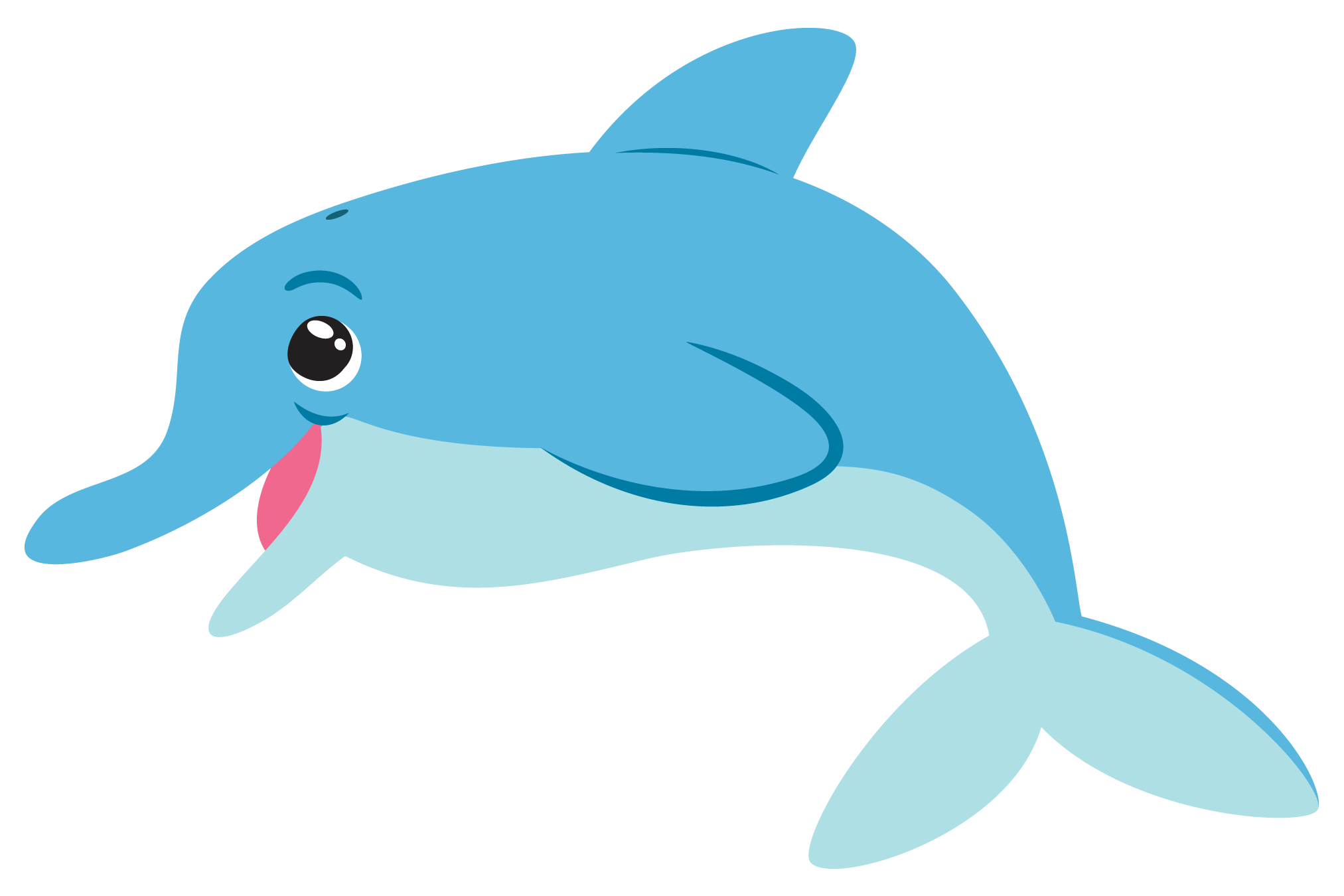 dolphin cartoon png