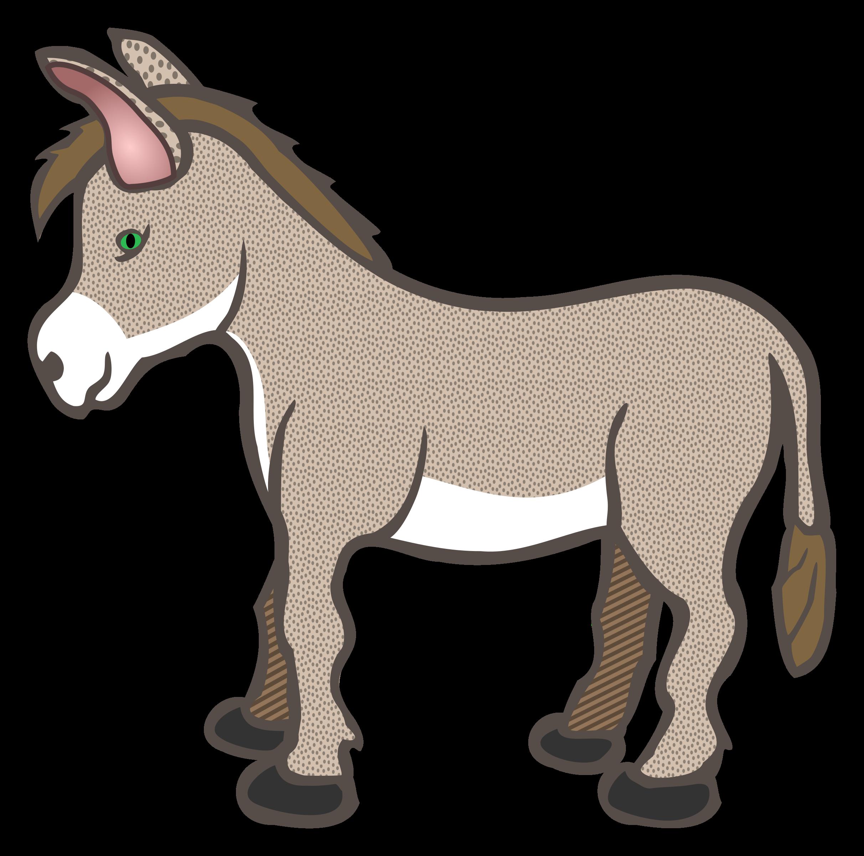 Donkey Clipart Transparent Image