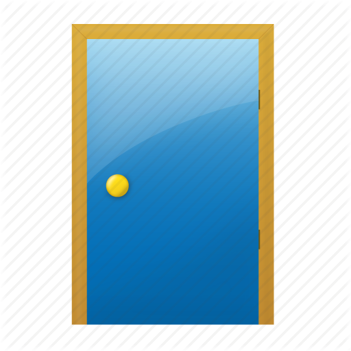 Free Door Icon image #10430