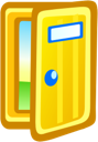 Door Free Icon Png image #10436