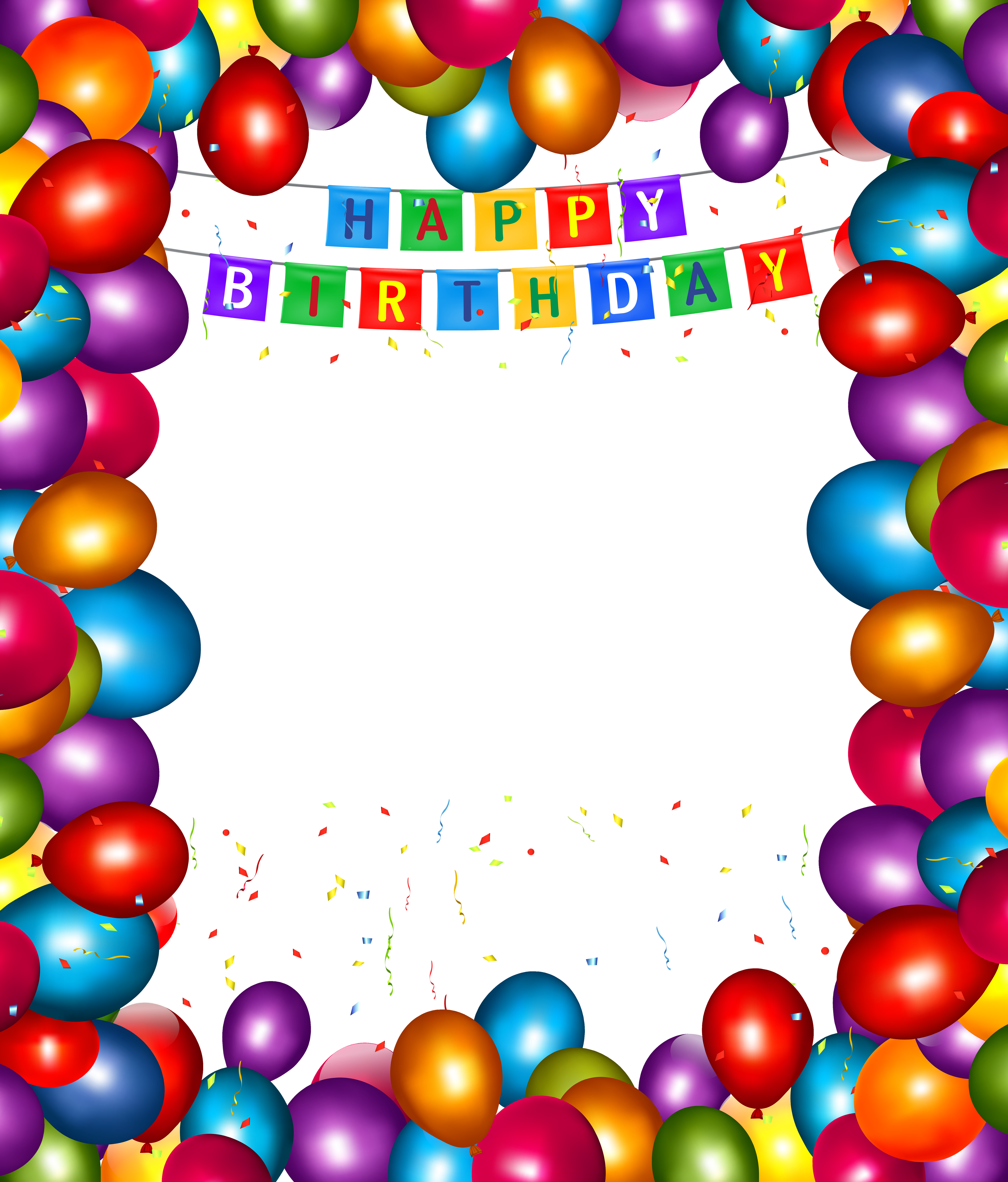 Download Birthday Party Frame Clipart 45899 Free Icons