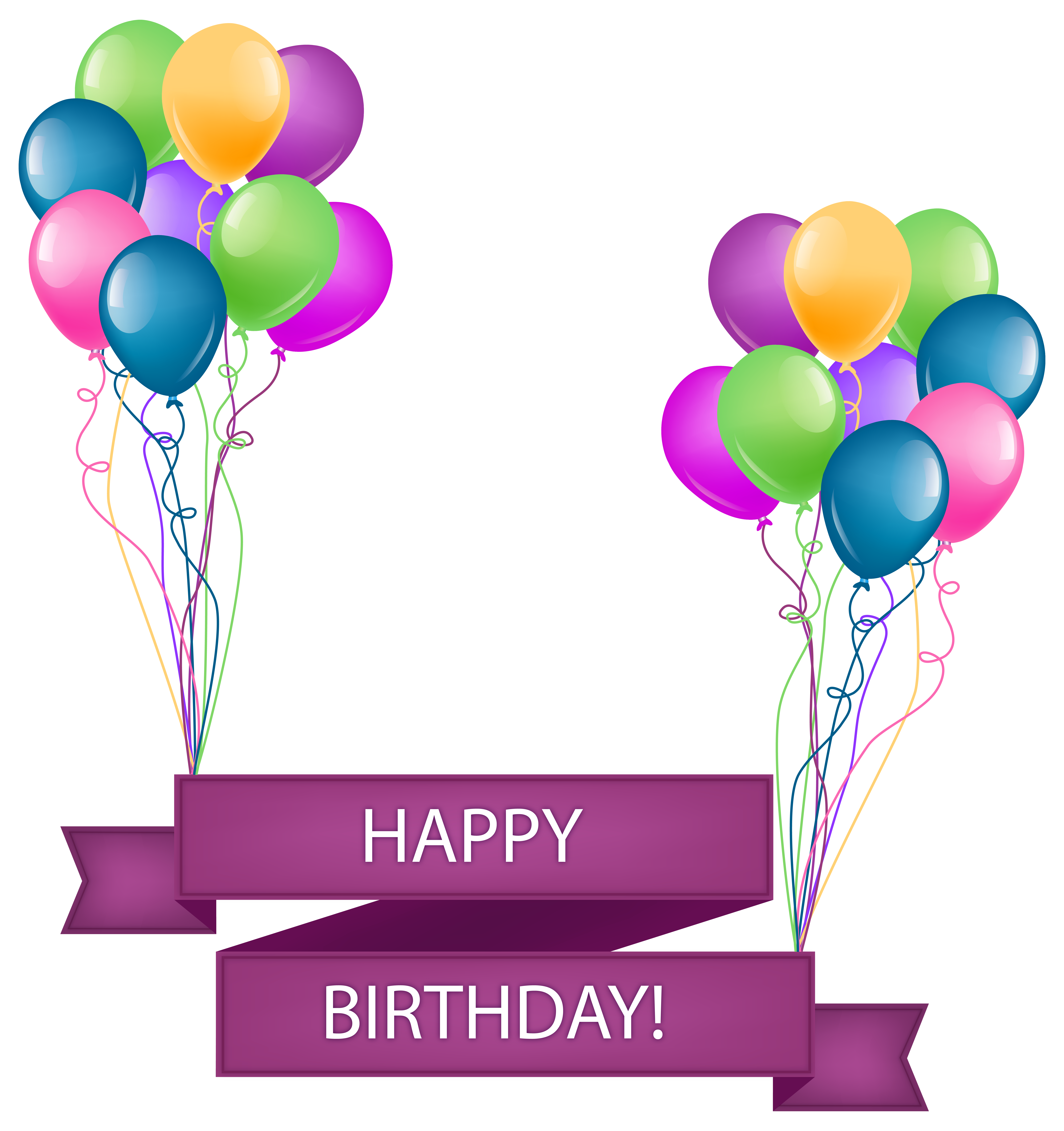 Birthday Party Png Transparent PNG Pictures - Free Icons ...