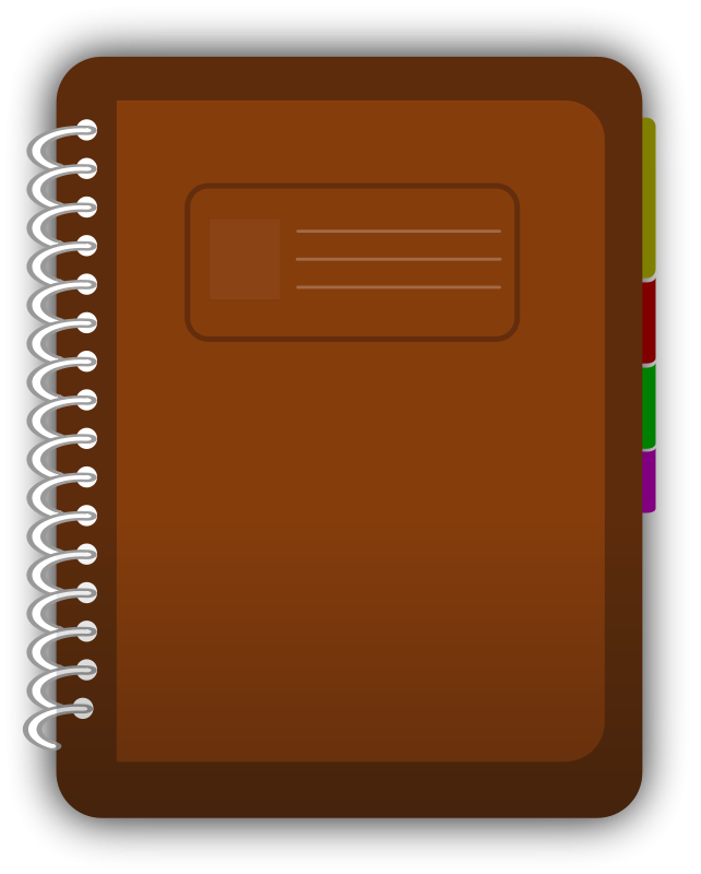 Download Brown Diary Png image #46557