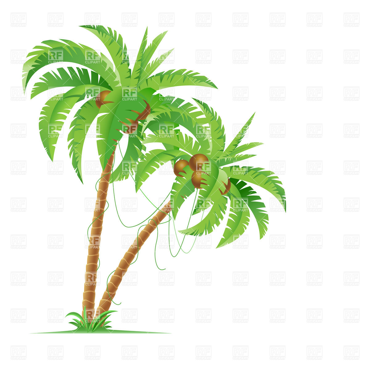 Download Coconut Tree Icon Clipart image #46413