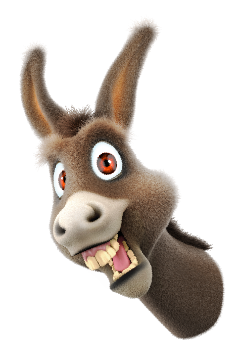 Download Donkey Cartoon Face image #47514