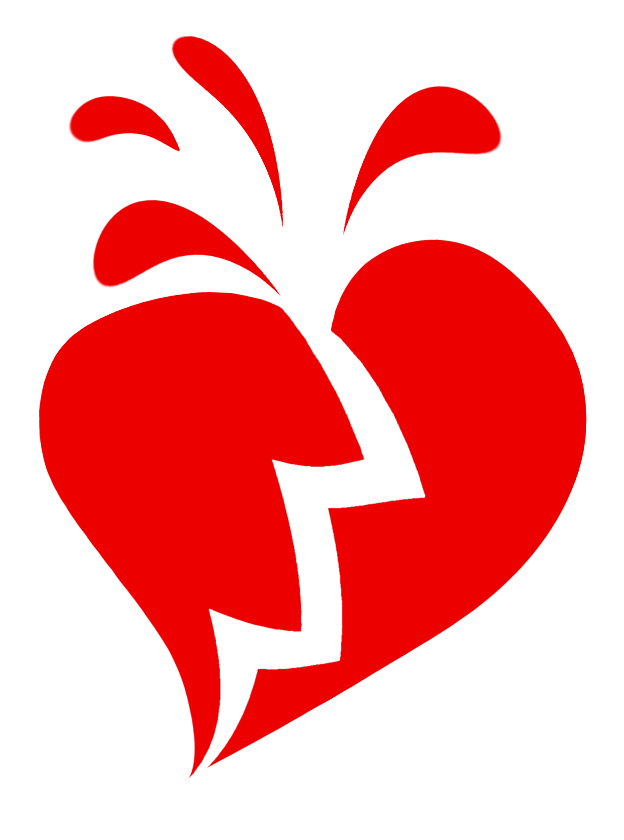 Download Free High quality Broken Heart Png Transparent Images