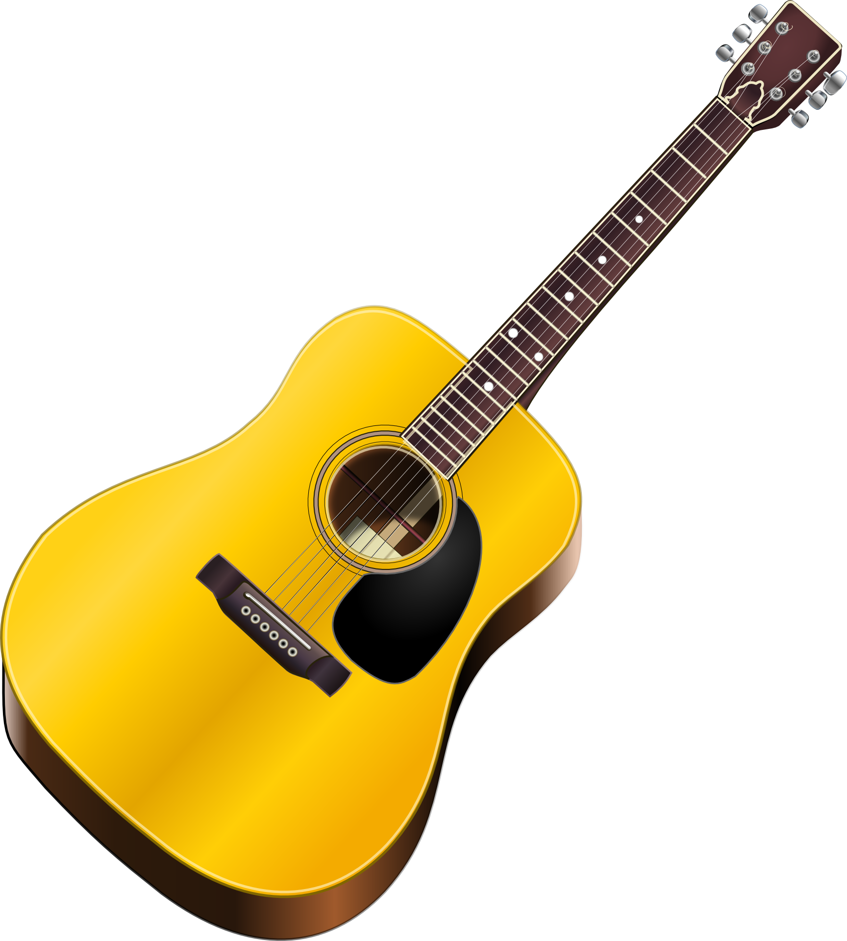 Download Guitar High-quality Png image #46318