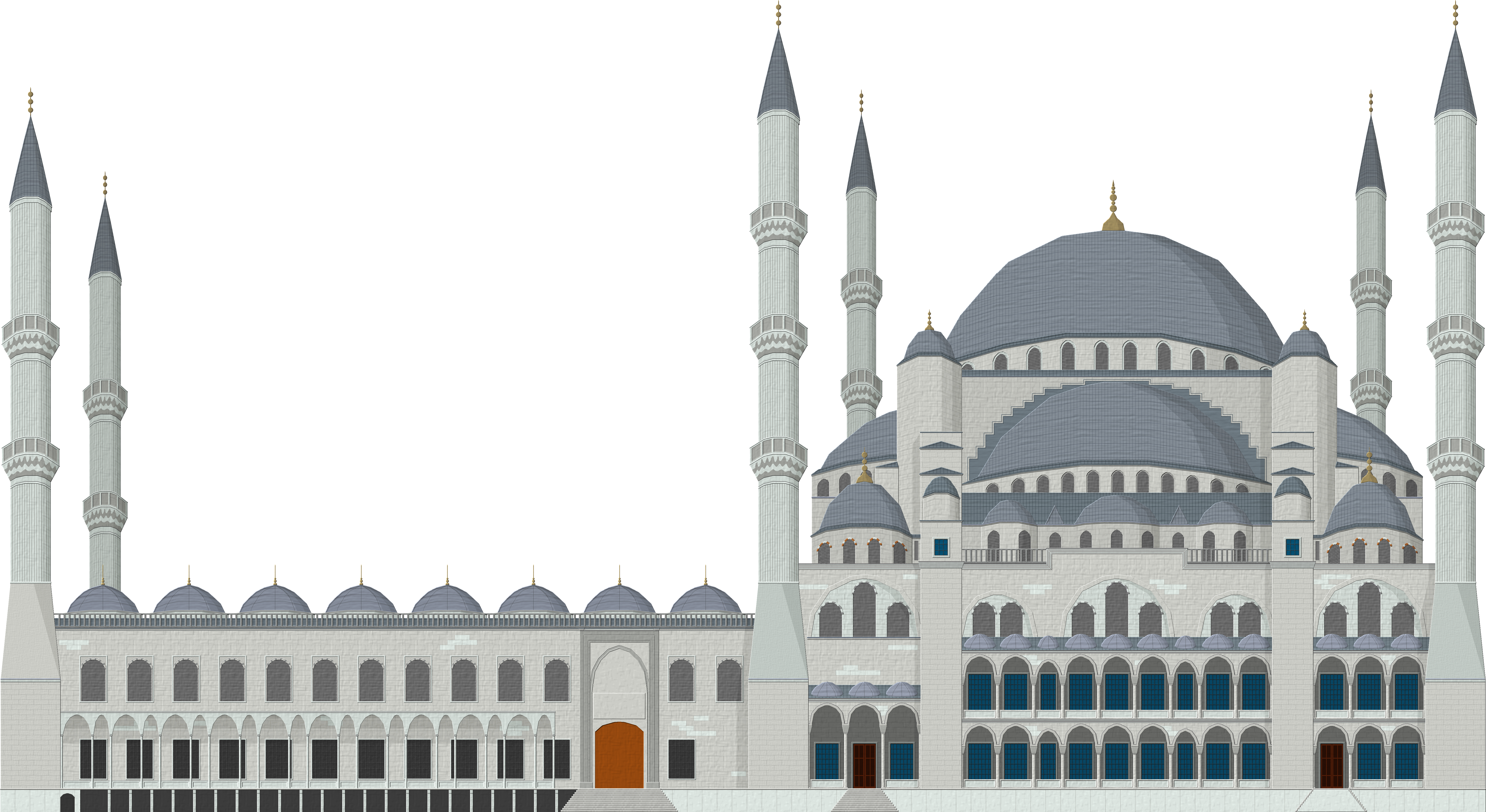 Download Mosque Png Clipart