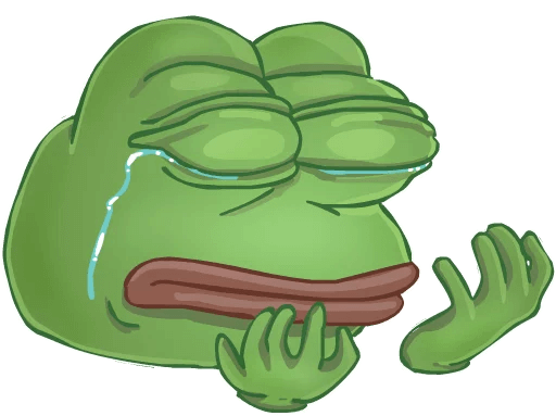 Download Sad Pepe Png Clipart