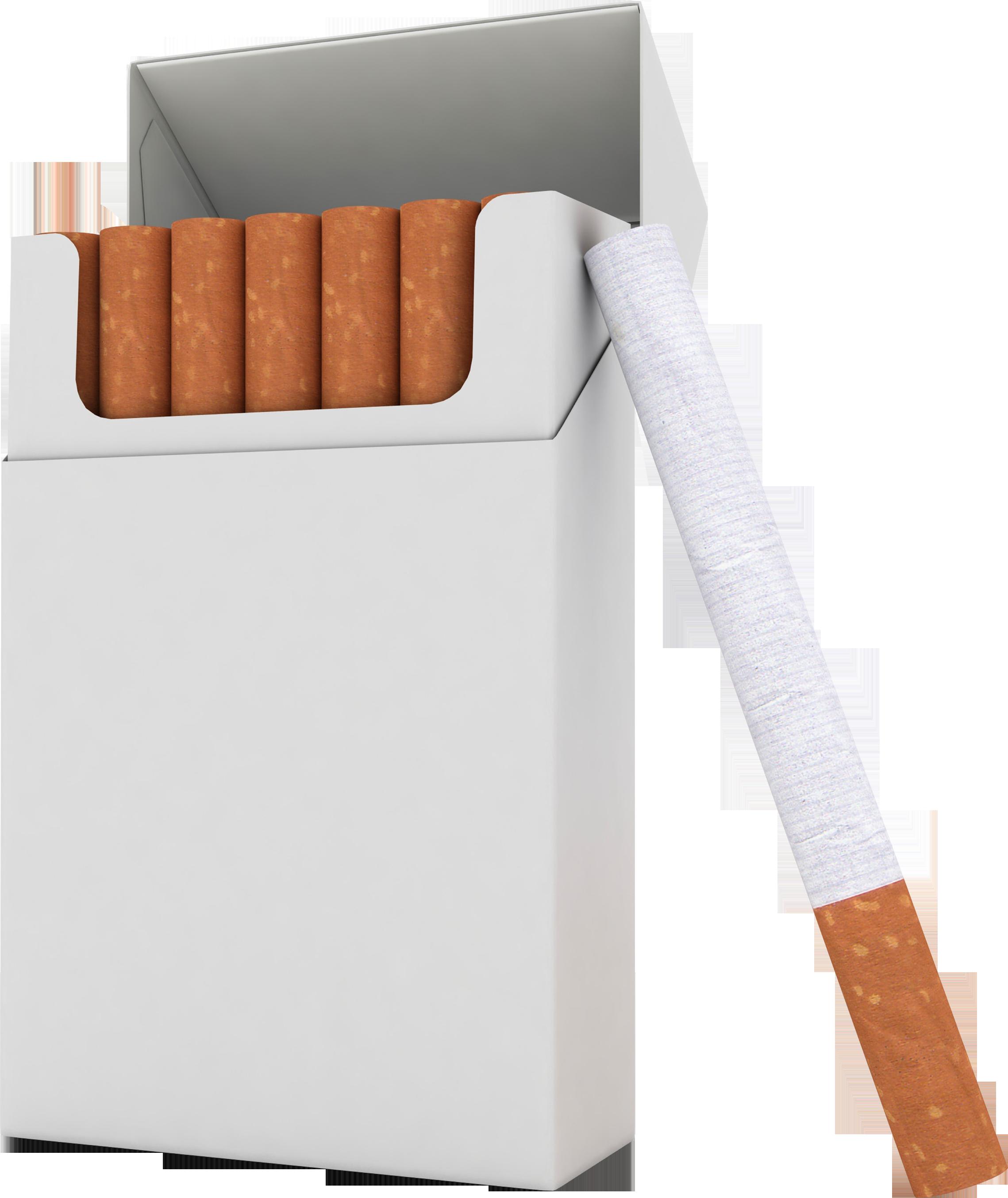 Download PNG image: Cigarette pack PNG image