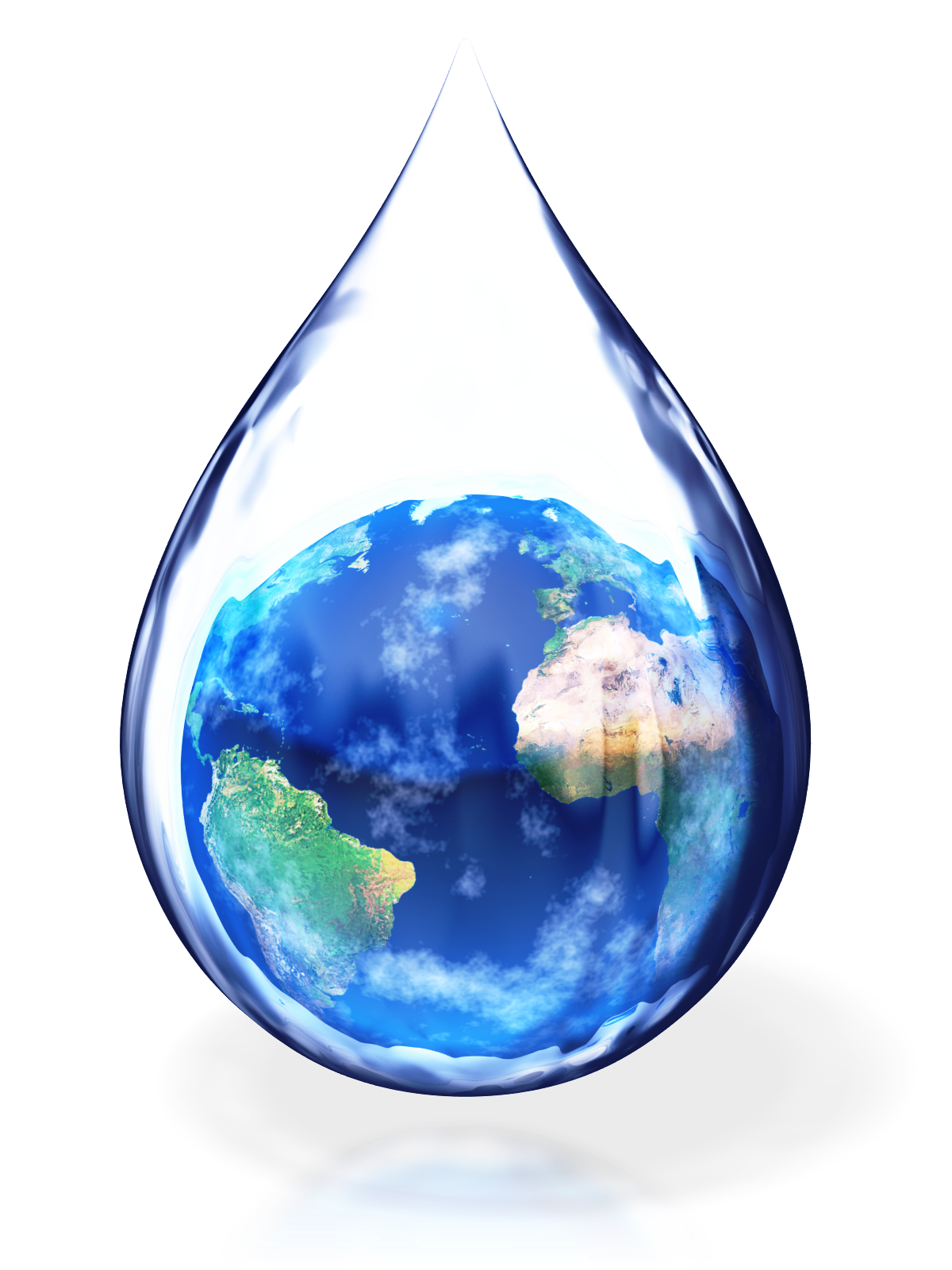 World In Water Drop image #46383