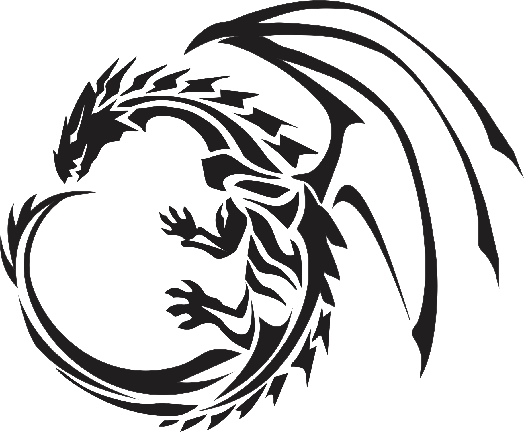 Free Dragon Pictures Clipart image #20238