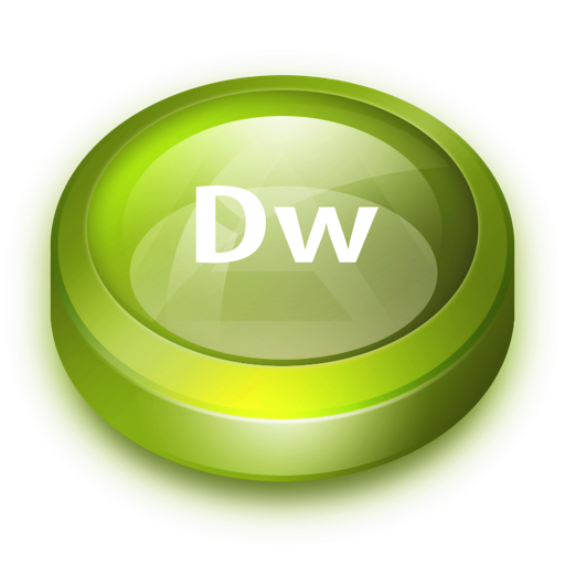 Transparent Dreamweaver Icon image #29744