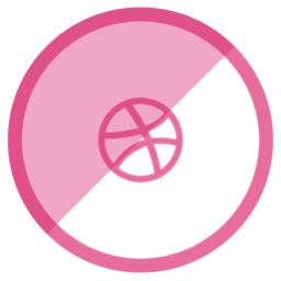 Dribbble Icon image #40189