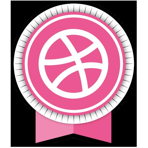 Dribbble Icon image #40194
