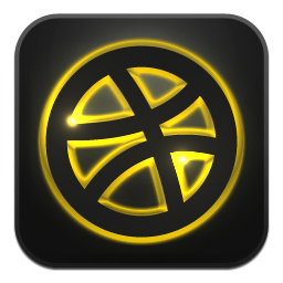 Dribbble Icon image #40197