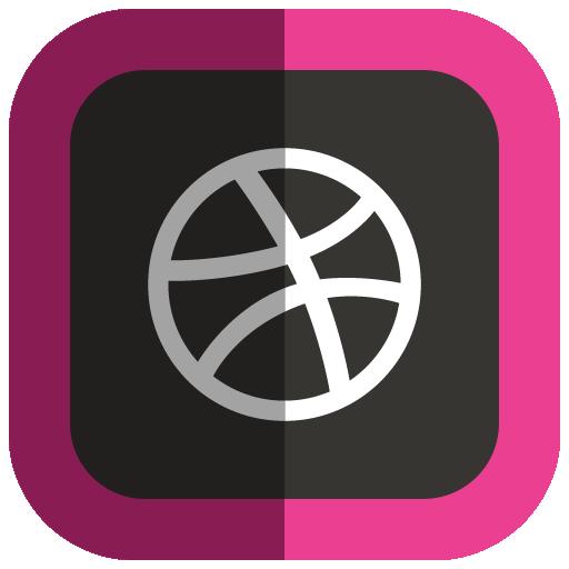 Dribbble Icon image #40183