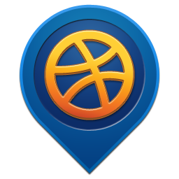 Dribbble Pin Icon image #40190