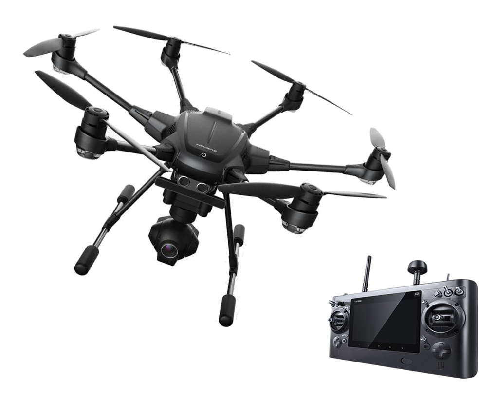Drone with Control PNG HD