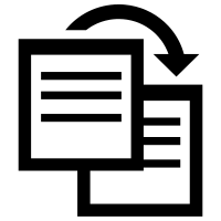 Duplicate Icon Png image #40230