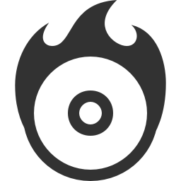dvd burn disk icon