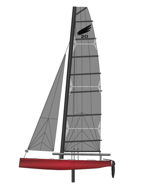 Eagle Ocean Catamaran png
